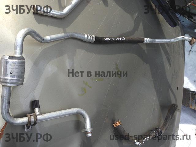 Замена трубки кондиционера рено логан своими руками