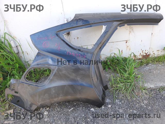 Ford Focus 3: Крыло заднее правое с разборки иномарок used-spareparts.ru. Б/у запчасти на Ford Focus 3